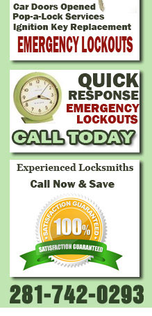 Lockout Services Rosharon Tx